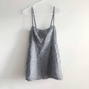 Brandy Melville • Gingham Mini Dress